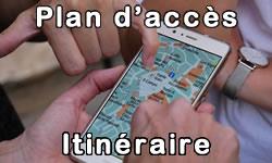 Plan d'accès - Itinéraire
