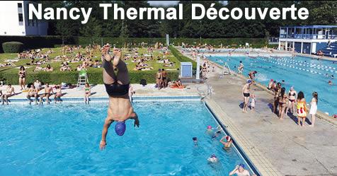 Nancy 54 piscine nancy thermal d couverte sports for Piscine thermal