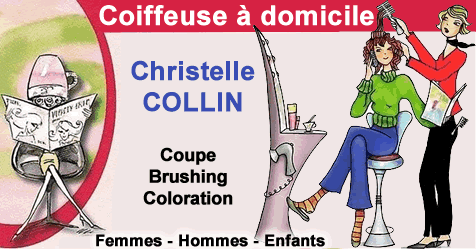 Christelle COLLIN Coiffeuse à Domicile Nancy