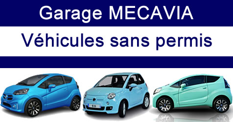 Garage Mecavia (Nancy 54), voitures autos sans permis