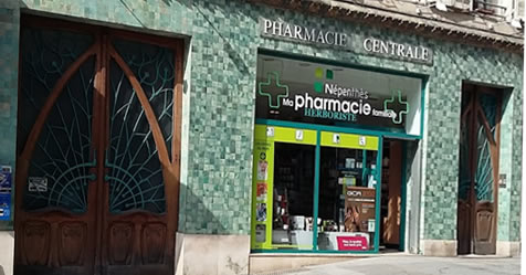 Pharmacie Centrale Goulet Nancy